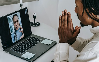 Managing Video Anxiety During Teletherapy