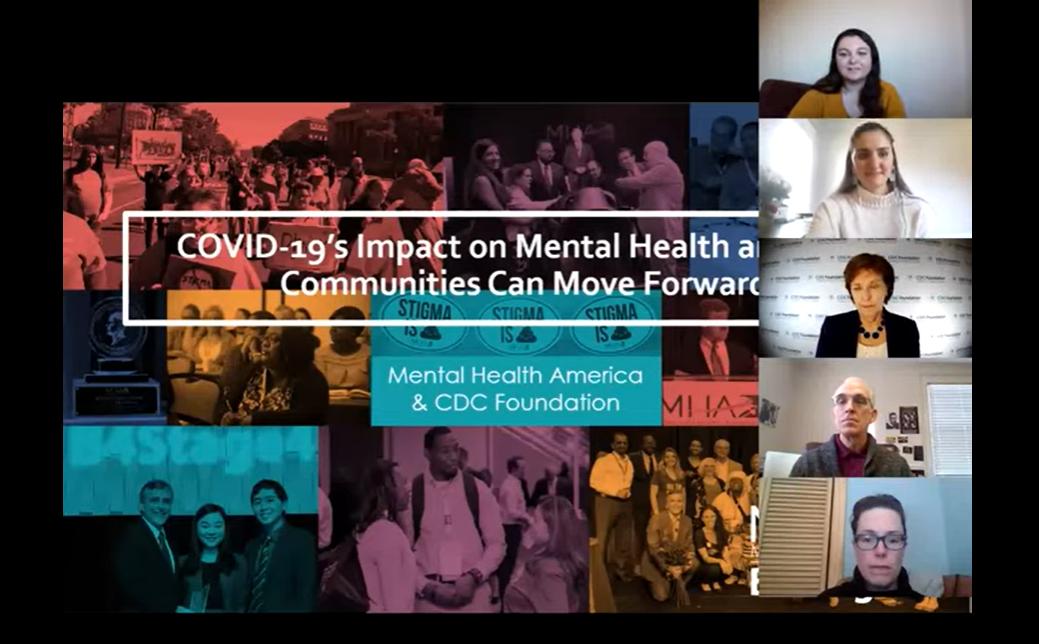 WEBINAR: COVID-19's Impact on Mental Health & How Communities Can Move Forward